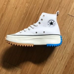 Converse all-star new style blue and gum bottom